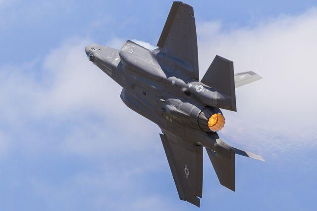 us air force f 35a lightning ii up close