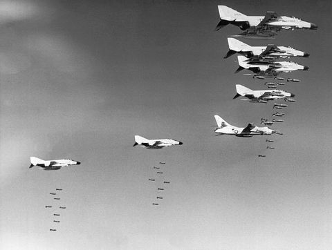 us bombing north vietnam
