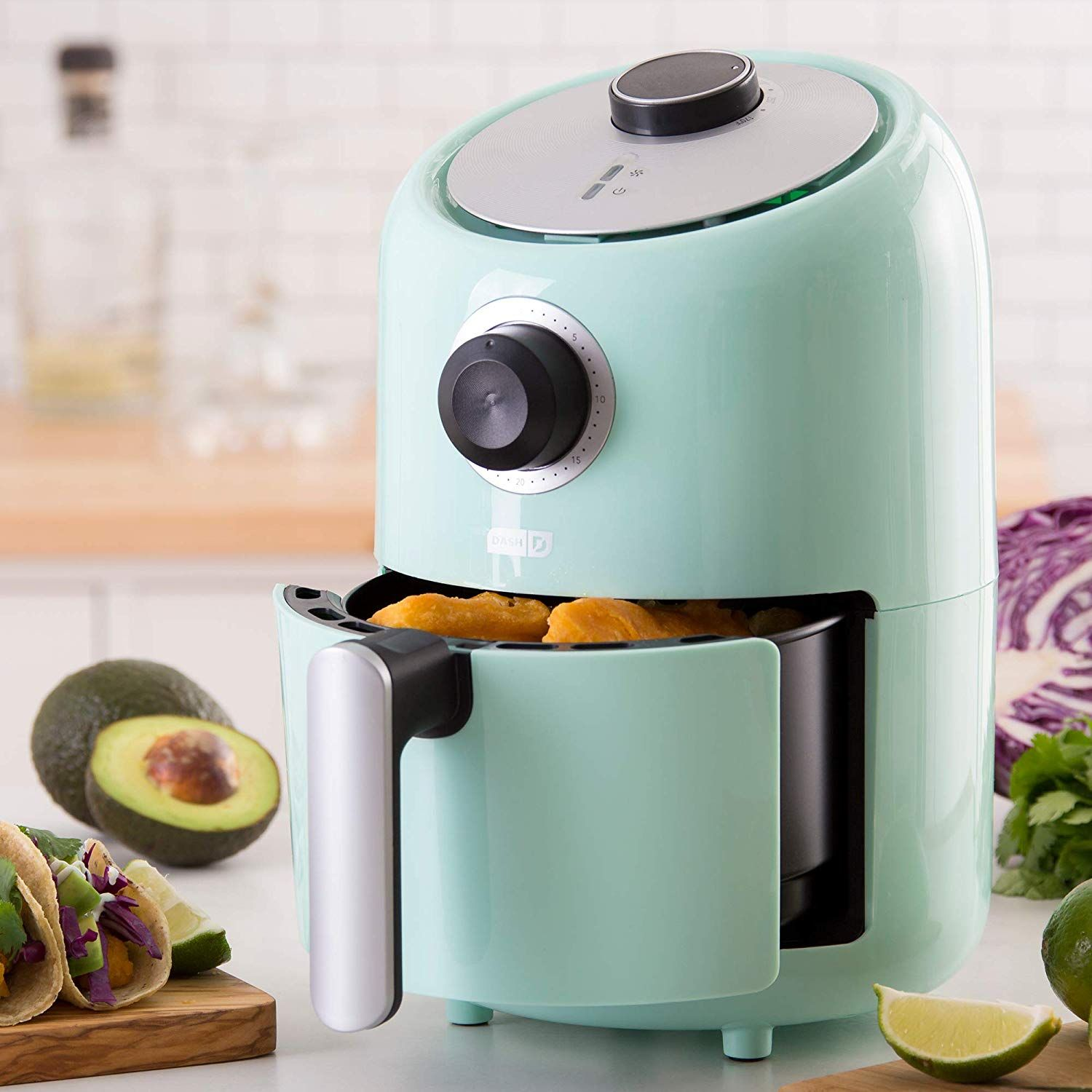 Dash's Compact Air Fryer Is 60 Percent Off Right Now On Amazon