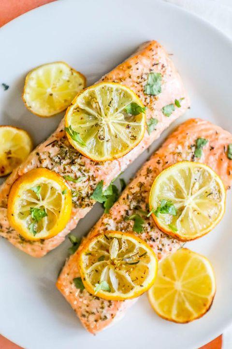 air fryer lemon garlic salmon air fryer recipes