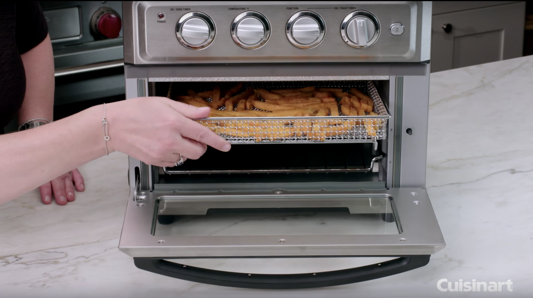 This Cuisinart Air Fryer Toaster Oven Is Less Than 200 This Week