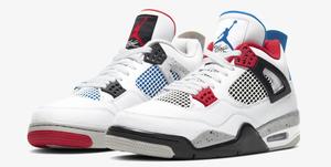 """Nike Air Jordan retro 4 """"What the"""""""