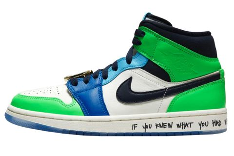 Shoe, Footwear, Sneakers, White, Green, Blue, Walking shoe, Aqua, Product, Outdoor shoe,