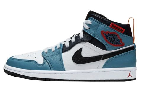 Shoe, Footwear, Outdoor shoe, Sneakers, White, Blue, Aqua, Product, Walking shoe, Turquoise,