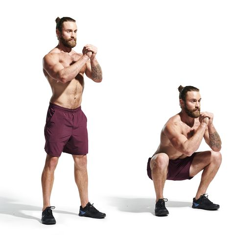 weights, exercise equipment, kettlebell, shoulder, standing, arm, muscle, chest, abdomen, fitness professional,