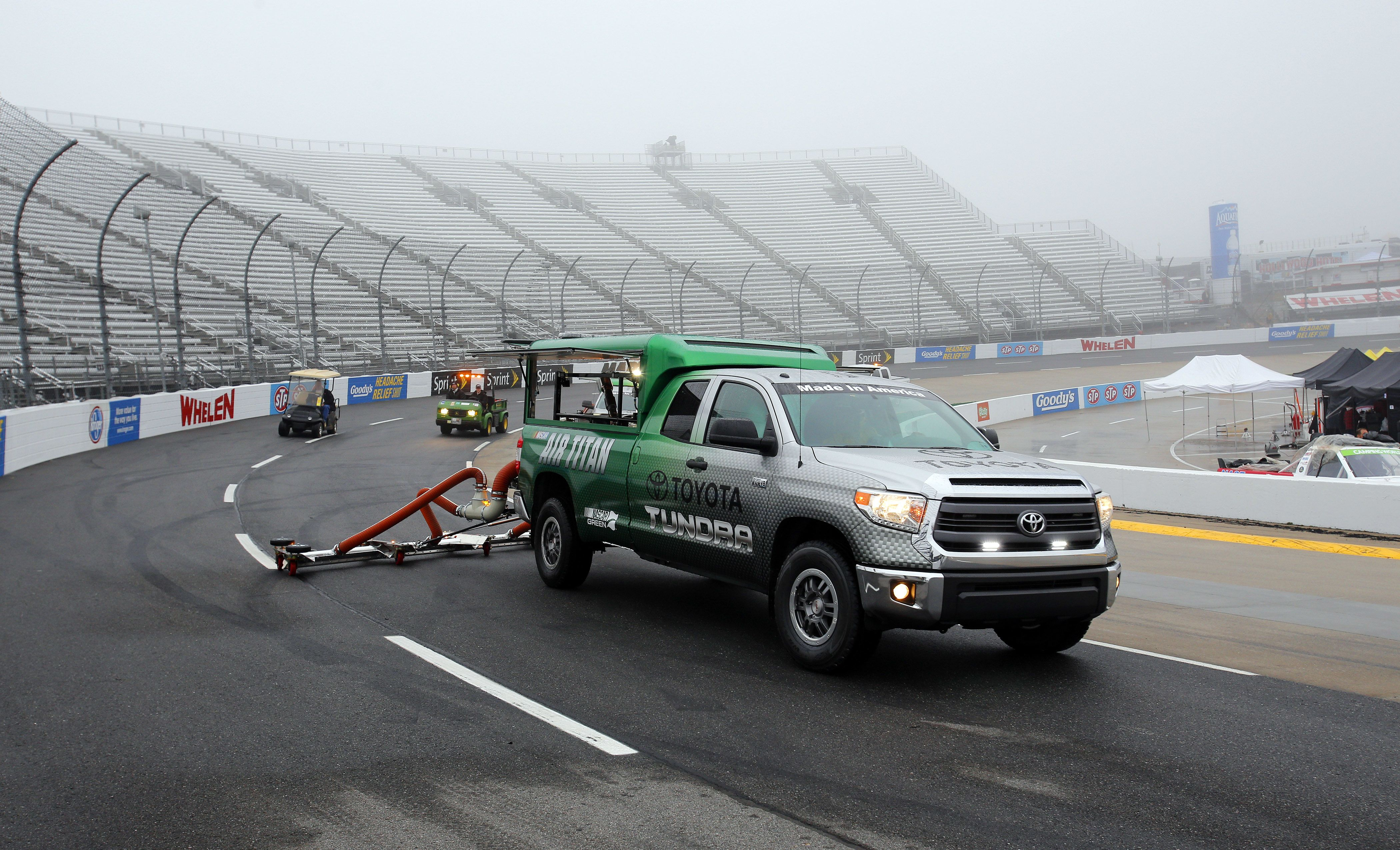 NASCAR's Martinsville Race Has Been Rained Out