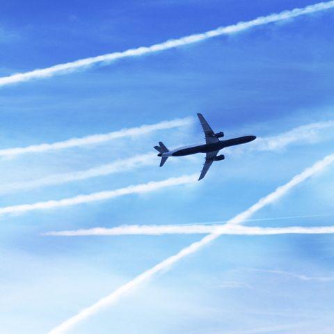 Air travel, artwork