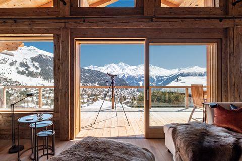 Room, Property, Window, Interior design, House, Furniture, Building, Door, Mountain, Real estate,