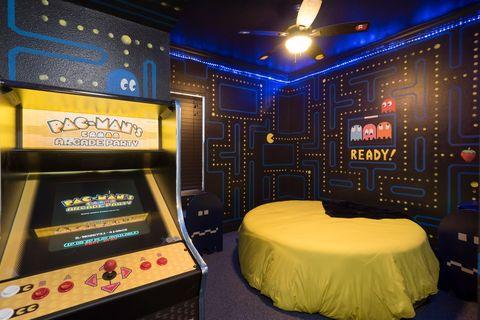 Alojamiento temático inspirado en Pac-Man en Florida