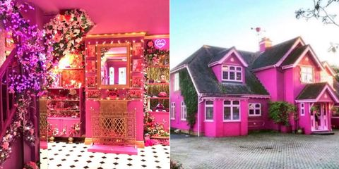 This pink house on Air BnB is the ultimate girls' trip location
