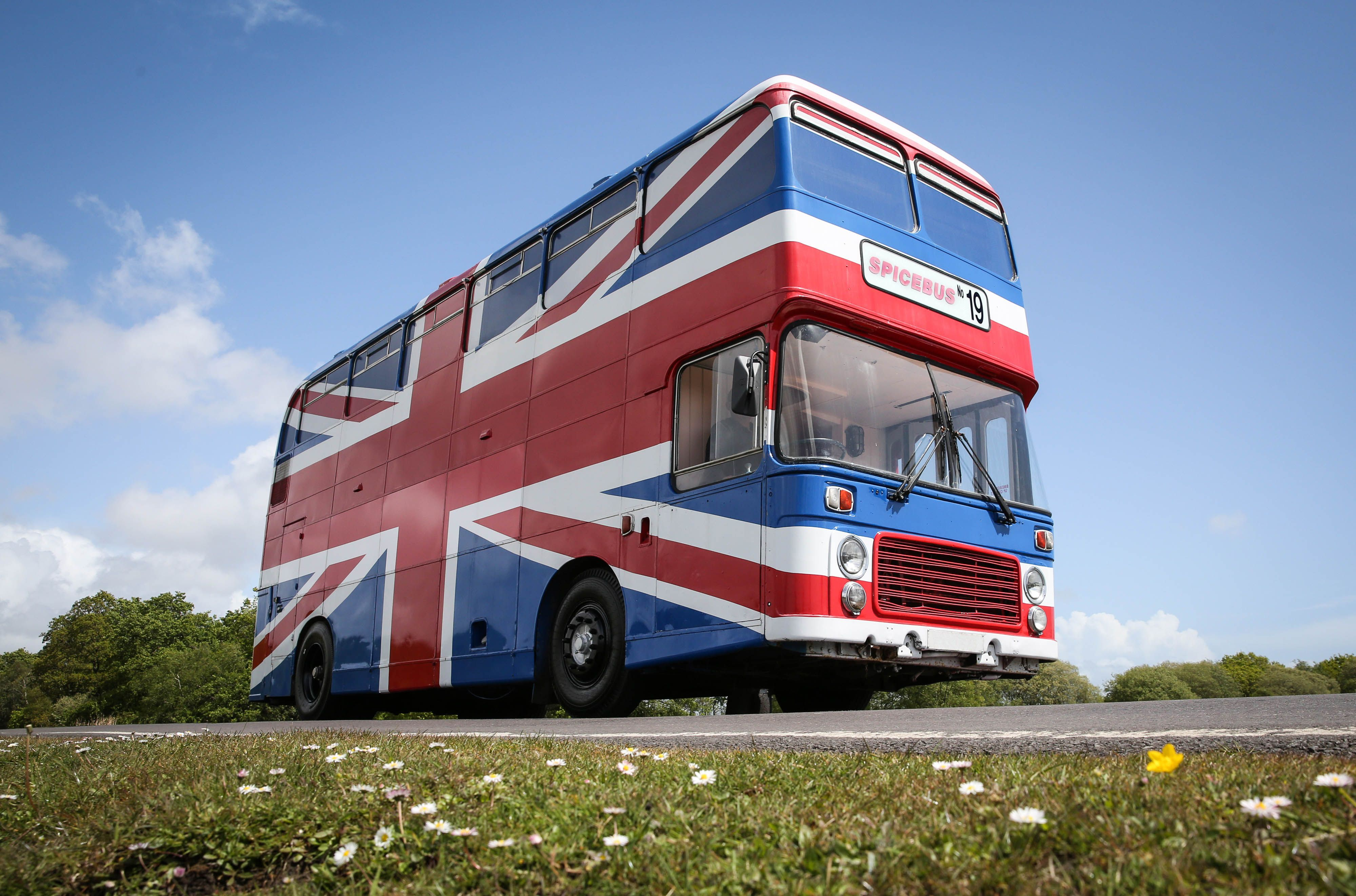 Channel Your Inner Spice Girl With a Sleepover In the Original 'Spice World' Bus