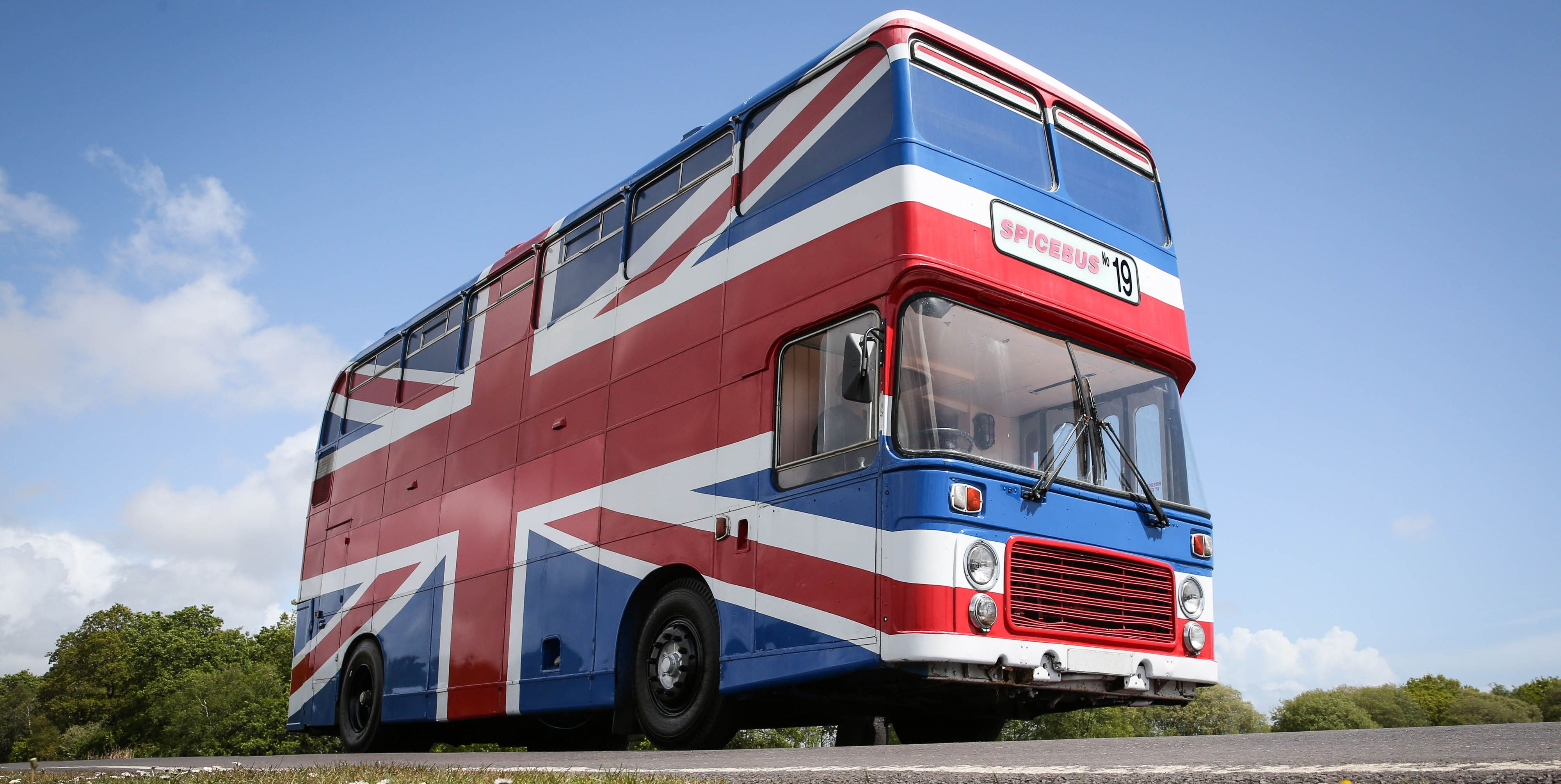 You Can Book a Private Sleepover In the Original Bus From 'Spice World'