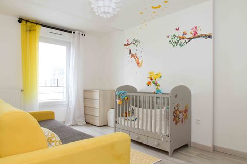 Airbnb Nursery Children S Kids Room Paris
