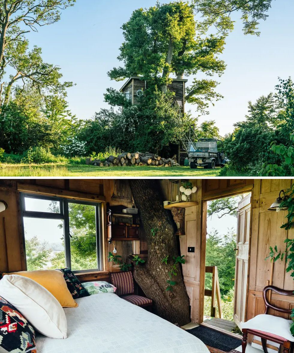 Airbnb treehouse UK