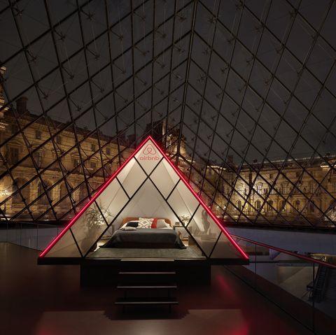 Airbnb Night at the Louvre Museum Paris Mona Lisa