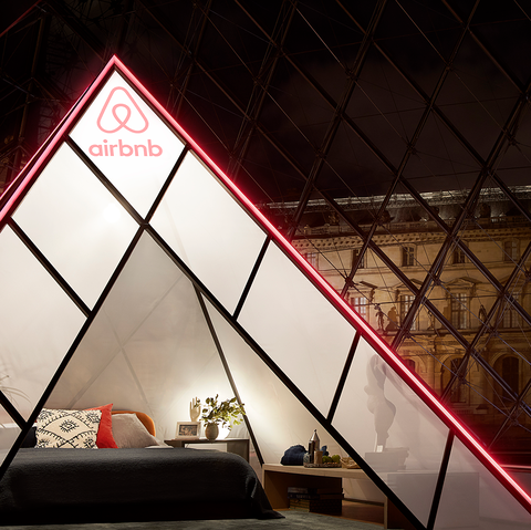 Red, Architecture, Light, Lighting, Pyramid, Daylighting, Design, Triangle, Building, Room,