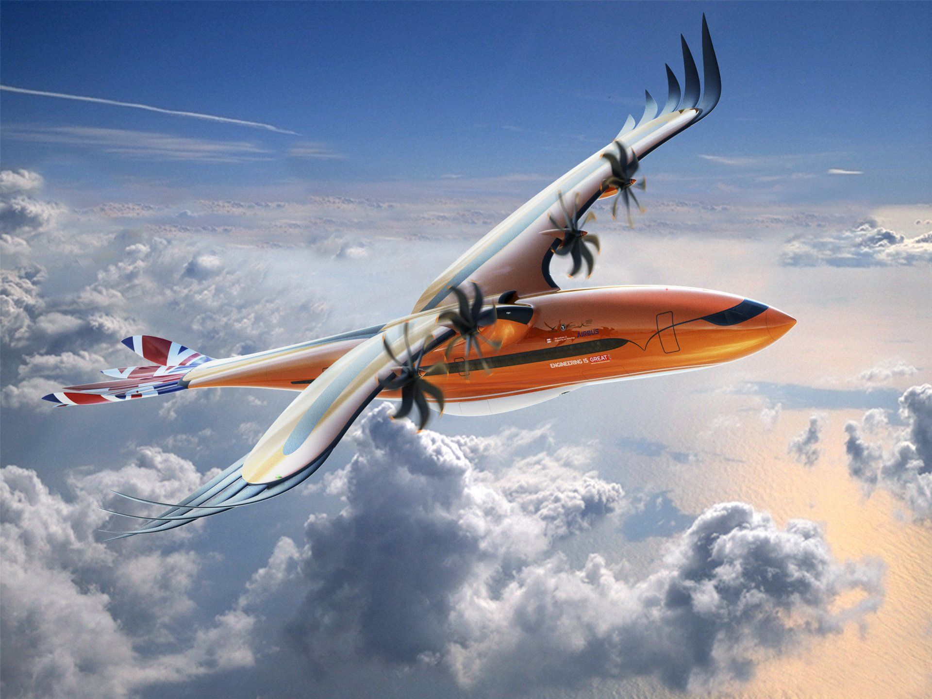 Airbus's New Concept Passenger Plane Is for the Birds
