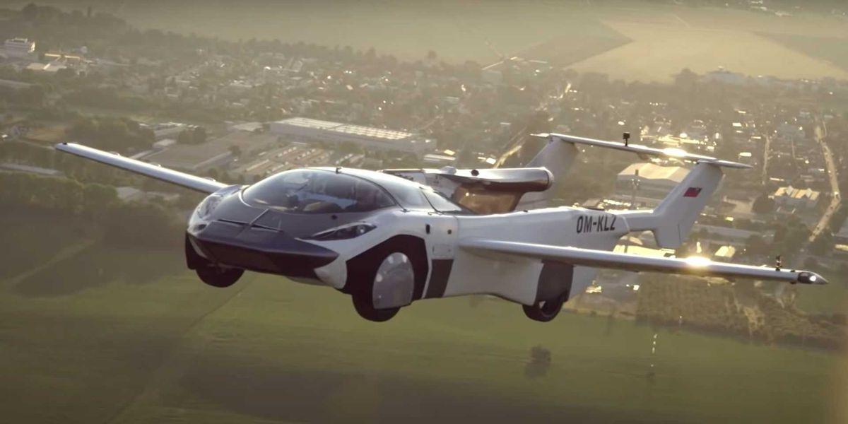 AirCar: El superdeportivo con alas de Klein Vision ya puede volar de una ciudad a otra