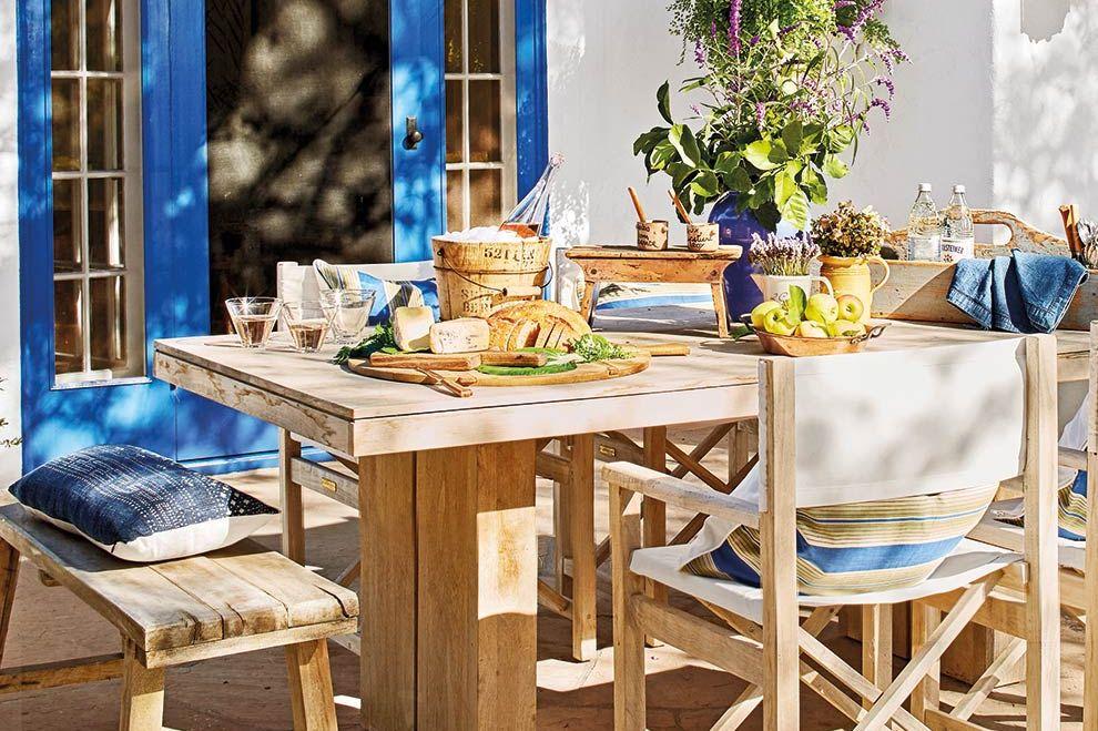 Casa de capo estilo colonial: Comedor exterior