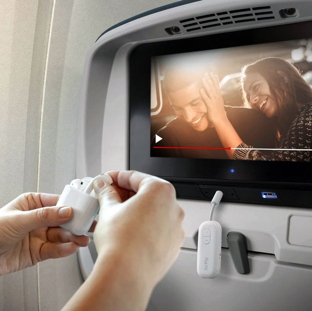 using twelve south airfly pro bluetooth adapter on plane