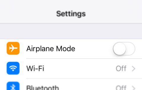 Airplane mode.