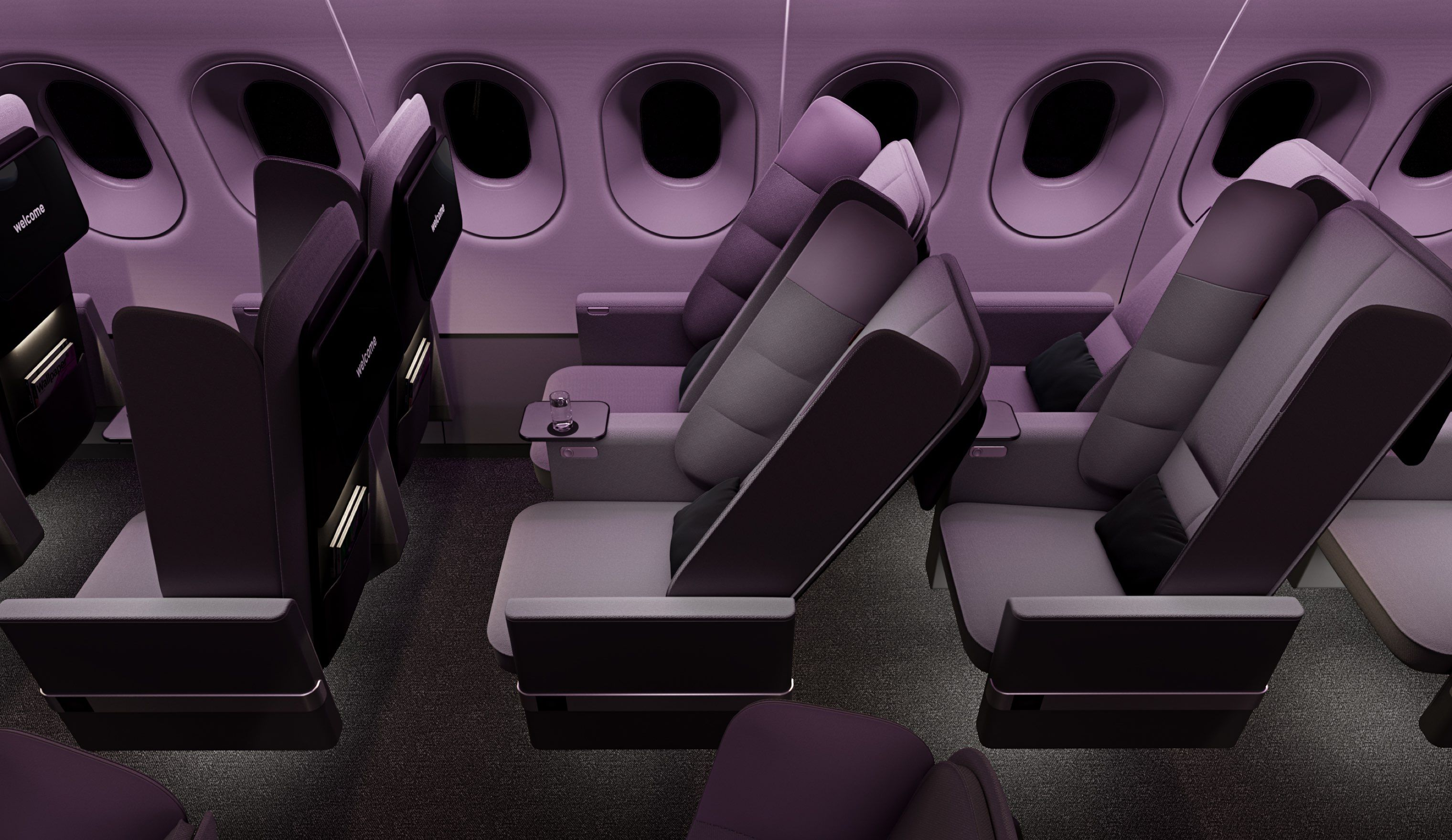 The New Airplane Seat That Will Help You Sleep Better
