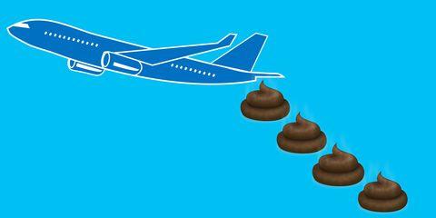 Aqua, Azure, Air travel, Airline, Airplane, Vehicle, Wing, Illustration,