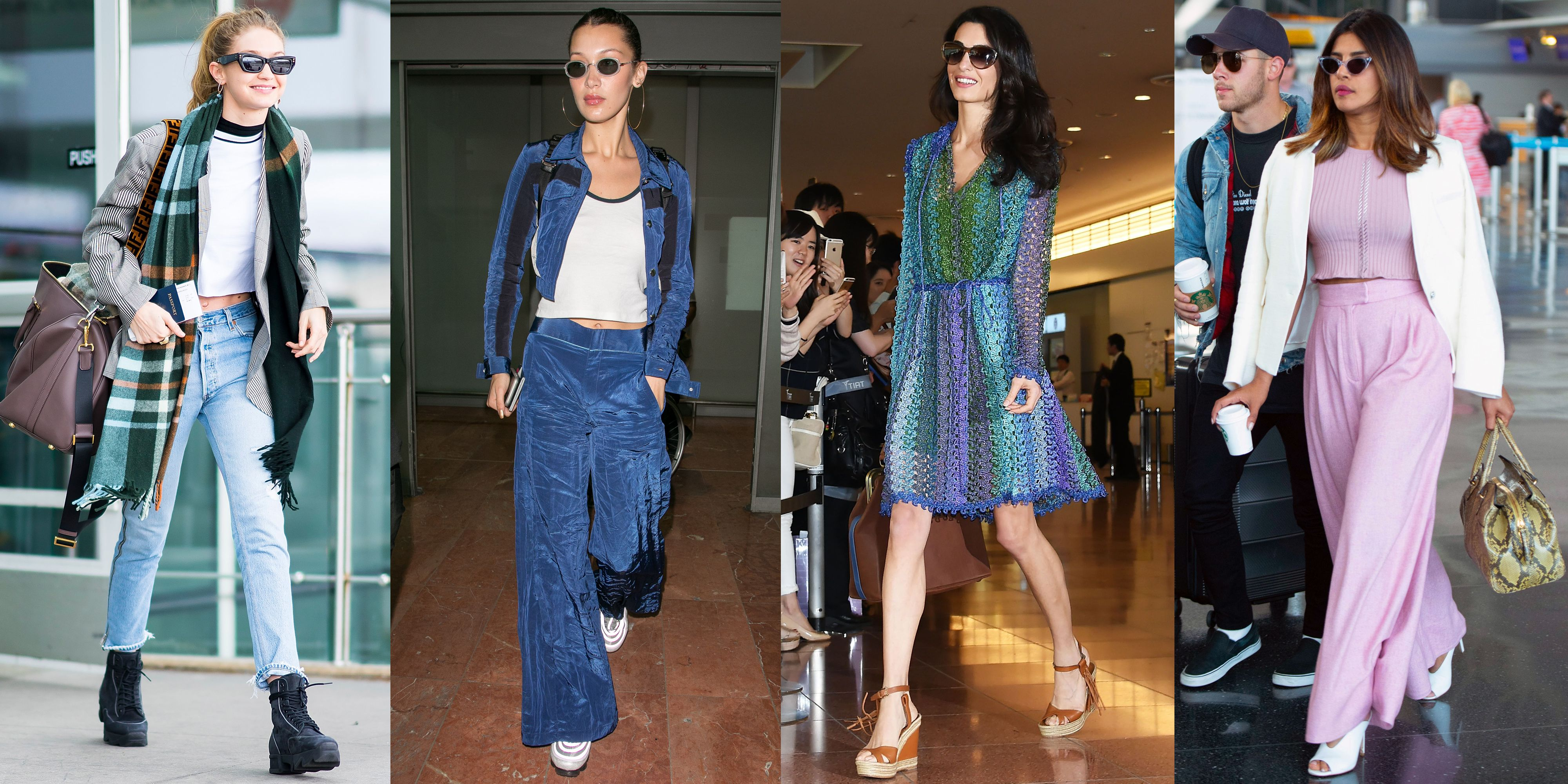 78f7dfbc331 105 Celebrities Looking Chic at the Airport—in Clothes You d Actually Want  to Wear