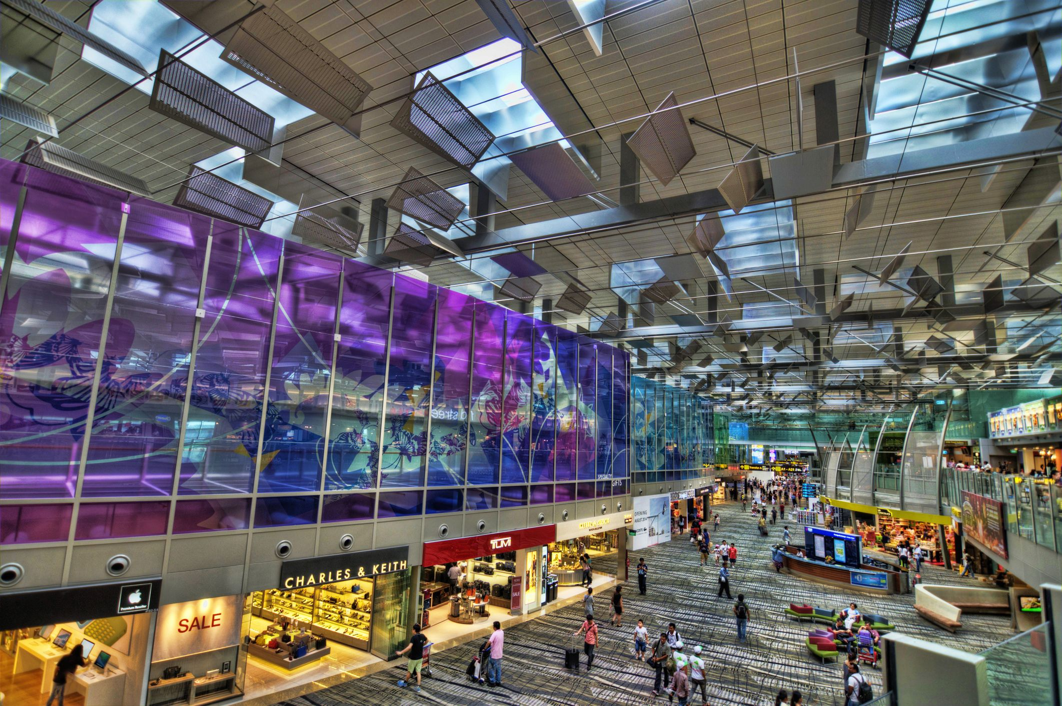 Singapore Changi Airport T3 | Getty Images