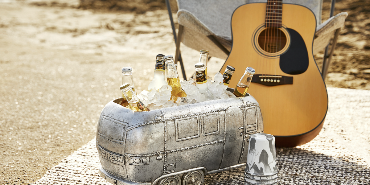 This Airstream-Shaped Cooler is Exactly What We Need to Save Our Wanderlust Souls