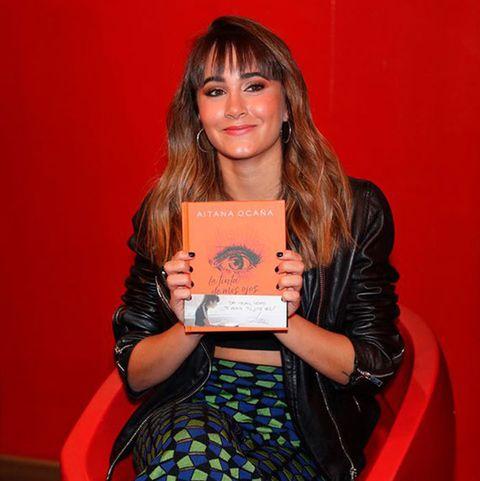 Aitana Ocaña reconoce haber 'robado' una fotografía a modo de inspiración para su libro