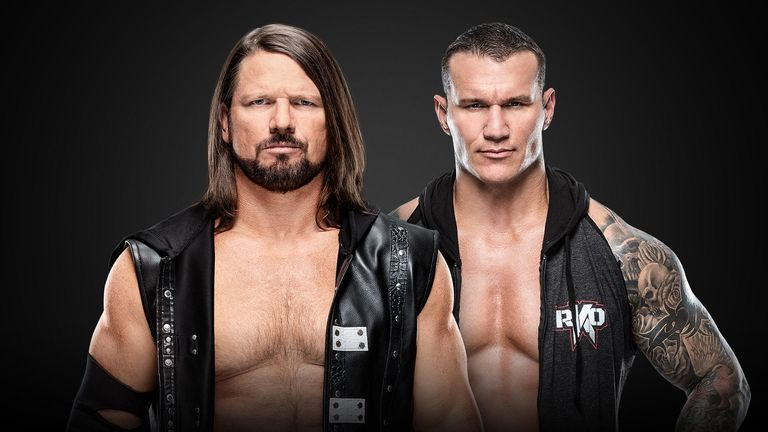 AJ Styles vs Randy Orton