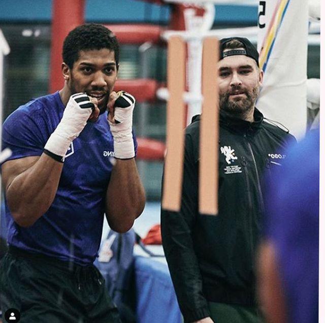 Anthony Joshua's trainer