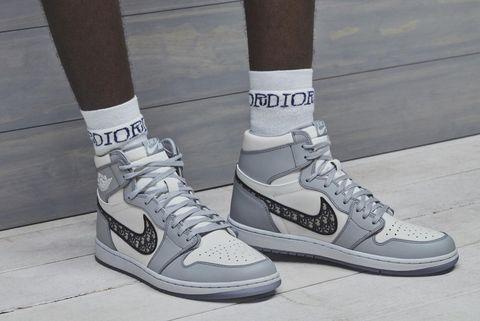 Dior x Jordan推出聯名款Air Jordan 1球鞋