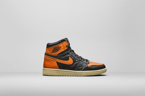 Nike AJ1 High OG Black / Orange
