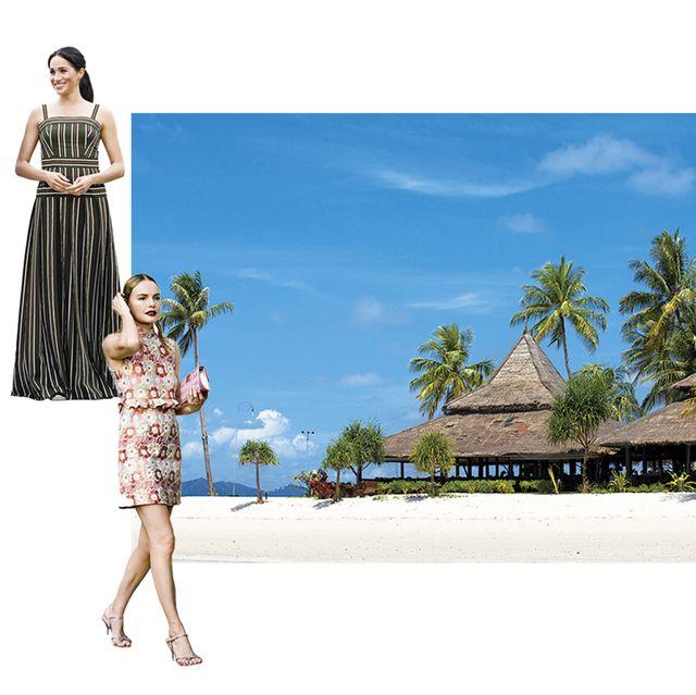 アジアリゾートの旅支度