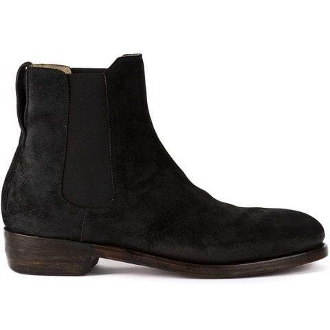 Botas hombre ante, botas Ajmone