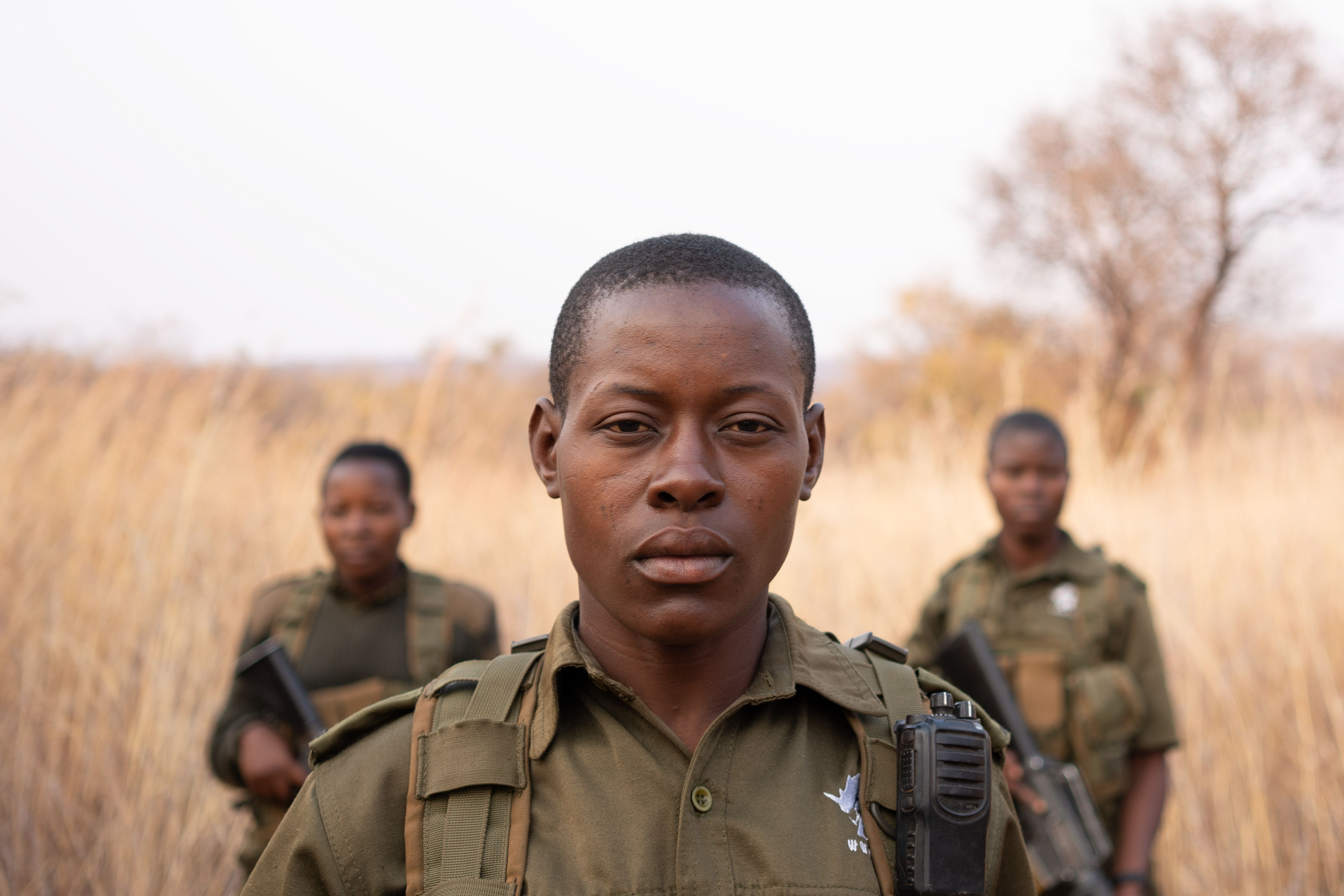 Armed and on the Frontlines: Inside Zimbabwe's All-Female Anti-Poaching Army