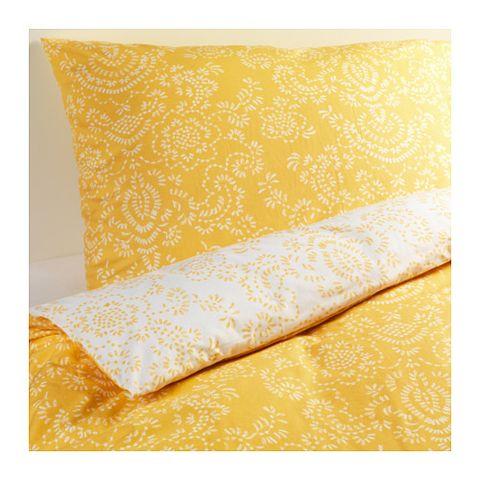 Yellow, Orange, Beige, Textile, Rectangle, Duvet cover, Pattern, Visual arts, Kitchen towel,