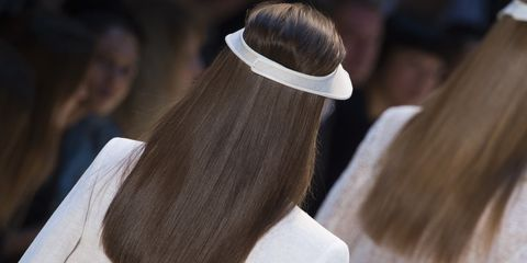 Hair, Hairstyle, Hair coloring, Hair accessory, Long hair, Brown hair, Fashion accessory,