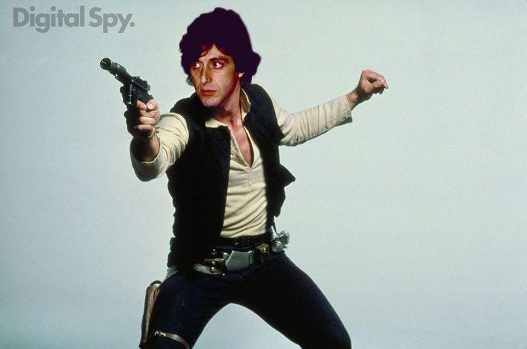 Han Solo: Al Pacino star wars george lucas