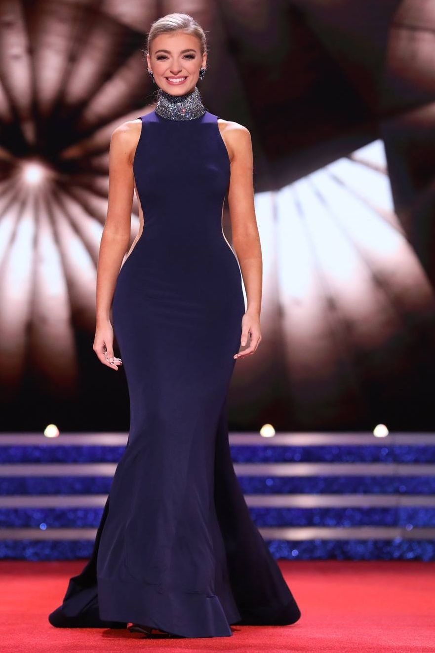 Miss America 2019 Evening Gown Photos See Miss America Contestant