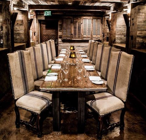 Room, Furniture, Table, Chair, Building, Interior design, Architecture, Restaurant, Ceiling, Wood,