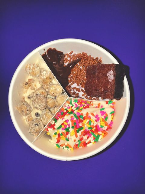 Food, Cuisine, Dish, Sweetness, Ingredient, Frozen dessert, Dessert, Confectionery, Chocolate brownie, Chocolate,