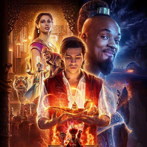 Disney 39 s aladdin remake shares new clip of a whole new world scene - Aladdin 2019 poster ...