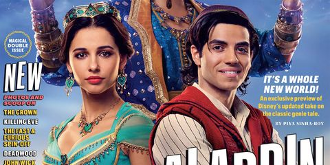 Aladdin Movie will release soon.