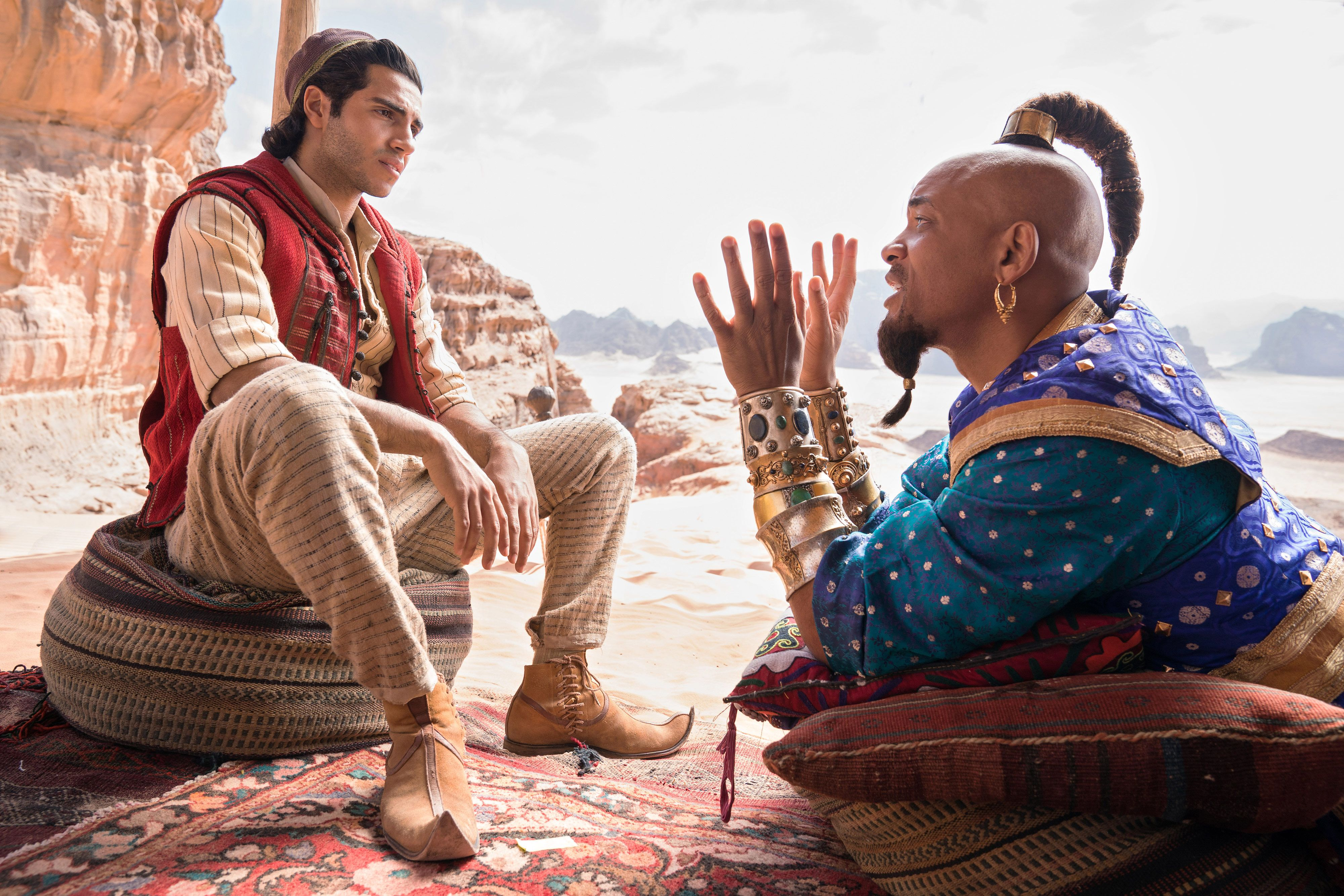 Disney S Live Action Aladdin Remake Has A Hidden Easter Egg