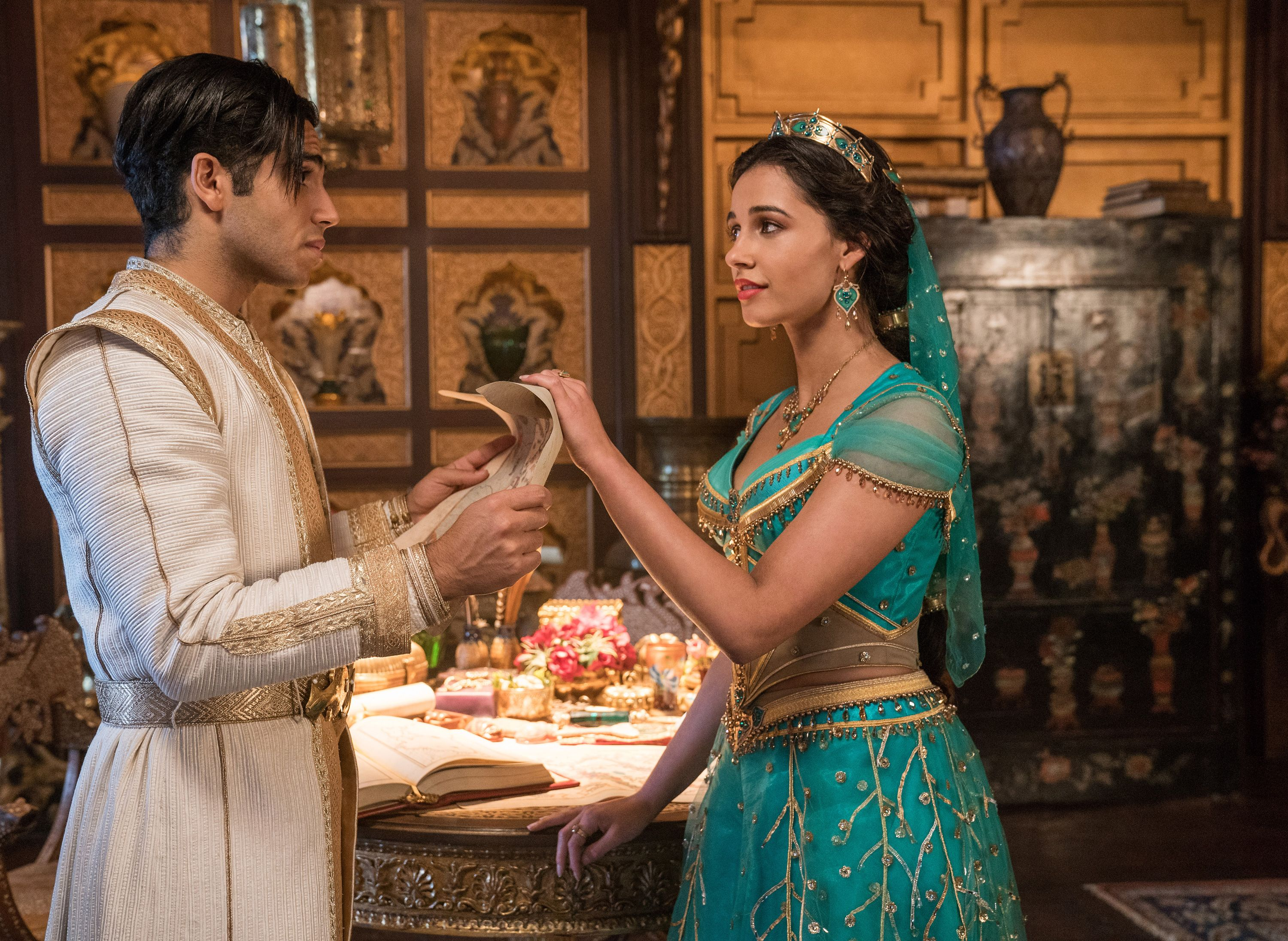 "Exclusive: Aladdin stars believe people are now more ""open-minded"" about diversity on screen"