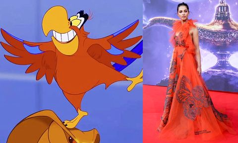 Naomi Scott Dresses As Every Aladdin Character For The