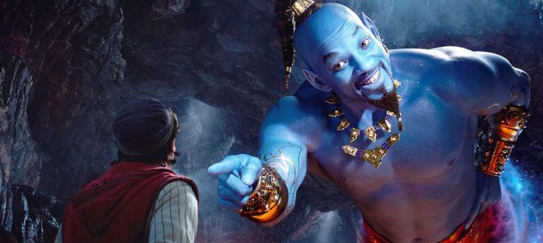 Aladdin disney remake genio will smith